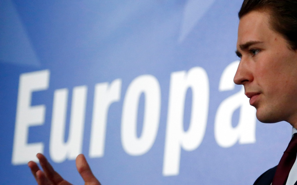 sebastian kurz europa photo
