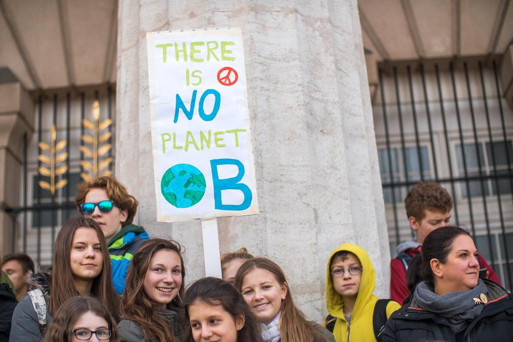 klima protest photo